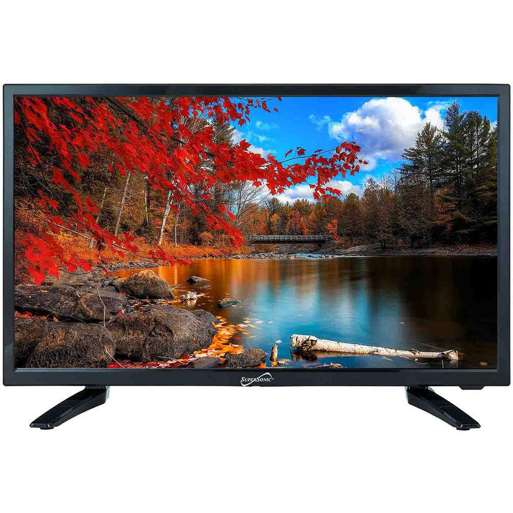 SuperSonic SC-2412 LED Widescreen HDTV & Monitor 24″