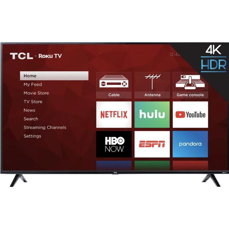 TCL 50S425 4K Smart LED Roku TV